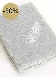 Plaid fleece Feather