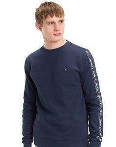 Sweatshirt met logotape
